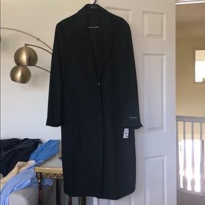 Charcoal Nordstrom overcoat 42R- NWT